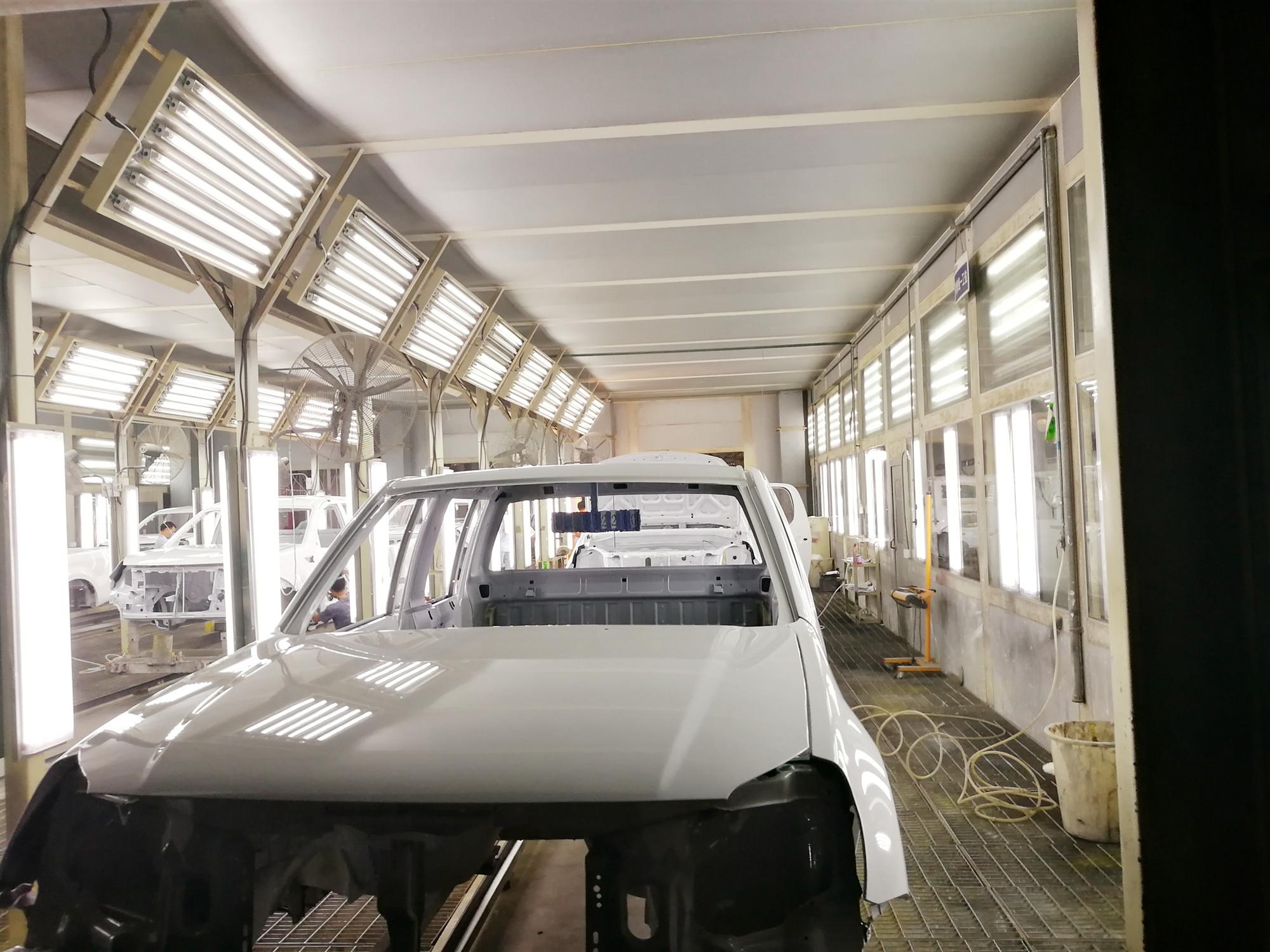 贵州汽车涂装生产线
