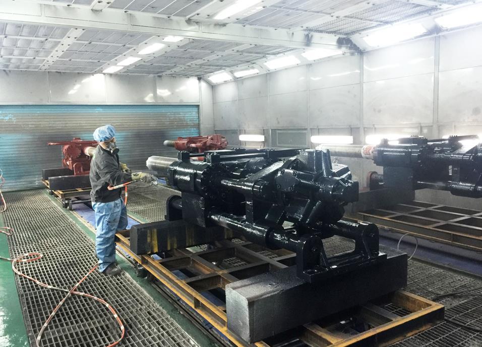 贵州机械喷漆设备
